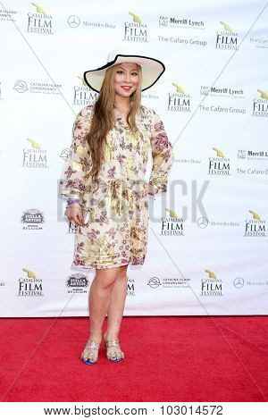 LOS ANGELES - SEP 26:  Alice Aoki at the Catalina Film Festival Saturday Gala at the Avalon Theater on September 26, 2015 in Avalon, CA