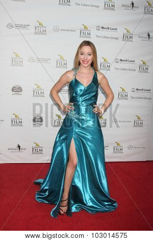 LOS ANGELES - SEP 26:  Megan Lee Joy at the Catalina Film Festival Saturday Gala at the Avalon Theater on September 26, 2015 in Avalon, CA