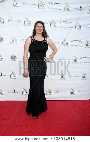 LOS ANGELES - SEP 26:  Alexis O. Korycinski at the Catalina Film Festival Saturday Gala at the Avalon Theater on September 26, 2015 in Avalon, CA