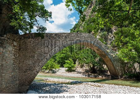 Bridge In Greece