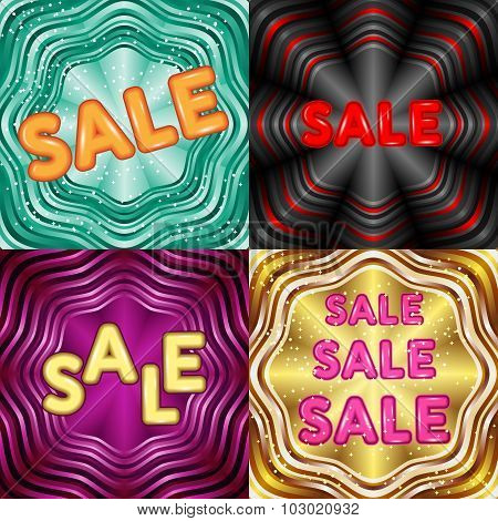 Collection of creative Sale discount promotion Flyers