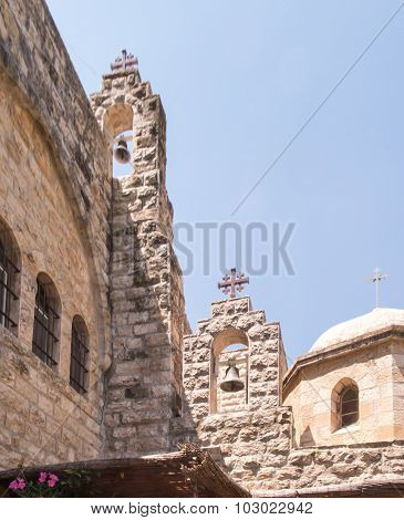 Church Of St. John In The Desert, The Area Of Jerusalem