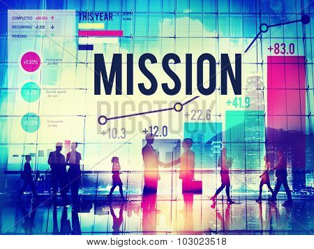 Mission Goal Inspiration Strategy Target Concept