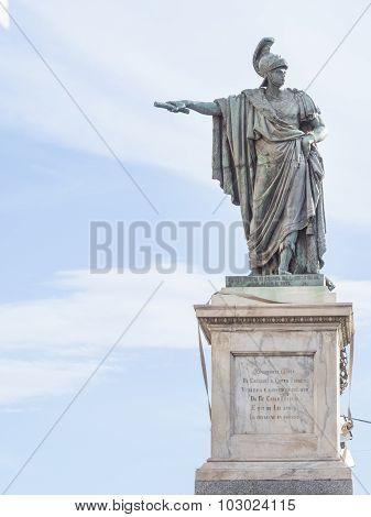 Bronze Statue Indicate