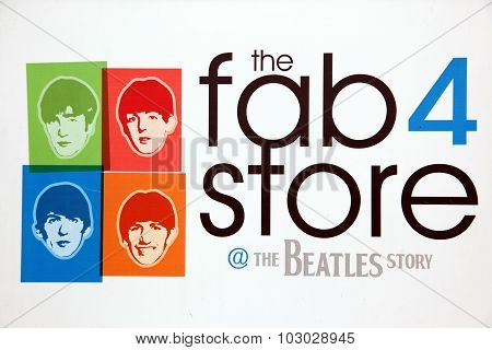 Liverpool, Uk - June 16: The Beatles Story, Opened Since May 199