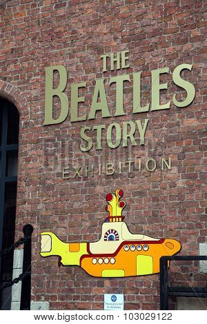 Liverpool, Uk - June 16: The Beatles Story, Opened Since May 1990 In Albert Dock, Liverpool, Gives G