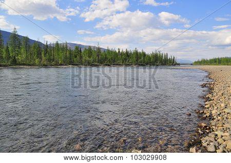 River Muksun, The Putorana Plateau.