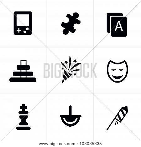 Toy Icons 9 Item