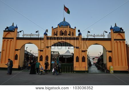 Afghanistan pavilion at Global Village in Dubai, UAE
