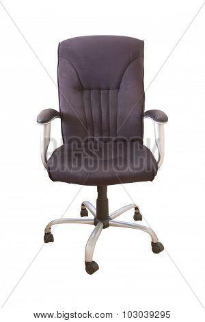 Isolated Desk Chari (clipping Path)