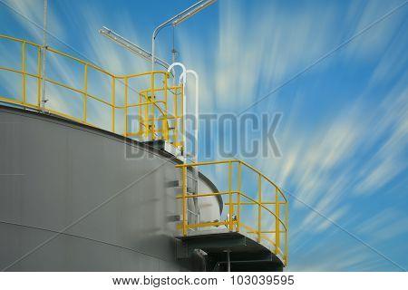 Liquid Storage Tank Of Power Plant.