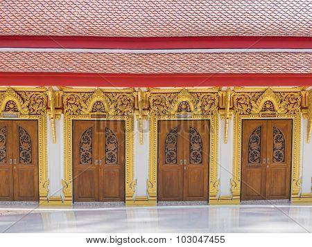 A Row Of Beautiful Door