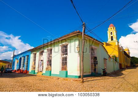 Trinidad, Cuba - September 8, 2015: Designated A World Heritage Site By Unesco In 1988.