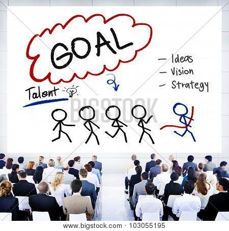 Goal Expectation Target Mission Aim Concept
