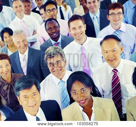 Diversity Business People Cooperate Team Community Concept