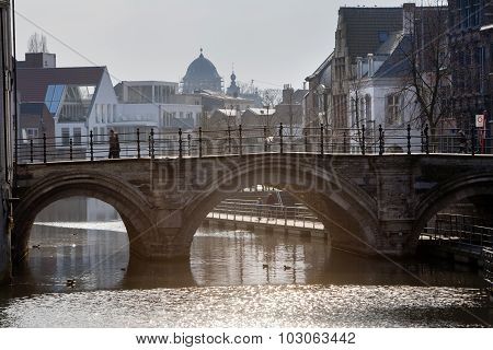 Bridge (hoogbrug) In Mechelen