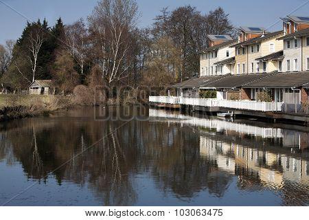 House Near Water In Quiet Neighborhood