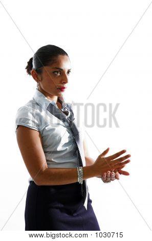 Mulher assertiva