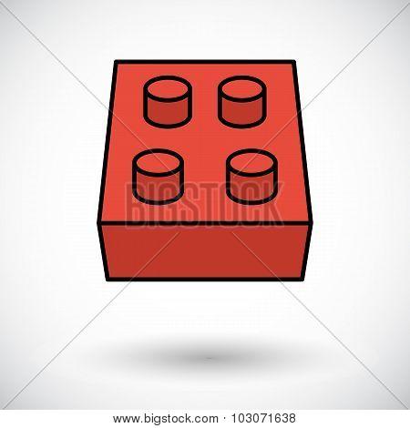 Building block icon