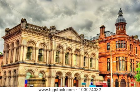 Buildings In The City Centre Of Belfast - Northern Ireland