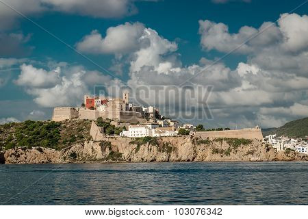 Dalt Vila Of Eivissa. Balearic Islands, Spain