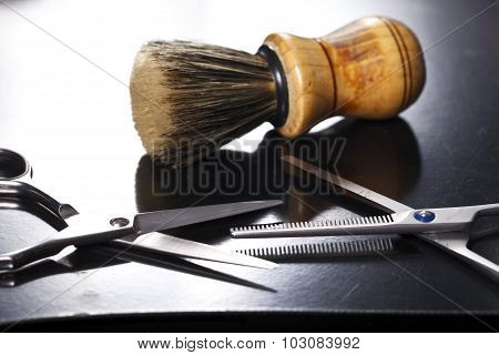The tool of the hairdresser