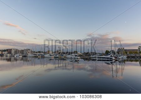 Harbour At Twilight