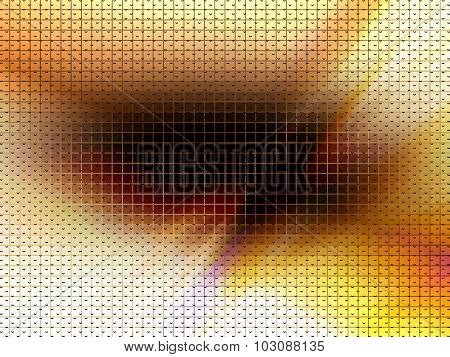 vector blurred composition