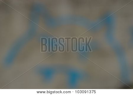 Average Blurred Background In Gray-blue Tones