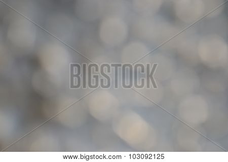 Gray And White Background. Strong Blur