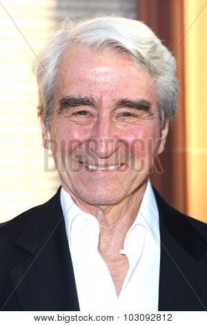 LOS ANGELES - SEP 28:  Sam Waterston at the