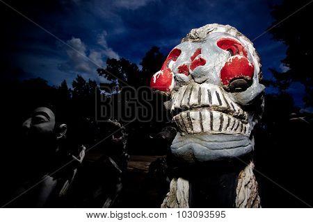Halloween ghost Thailand