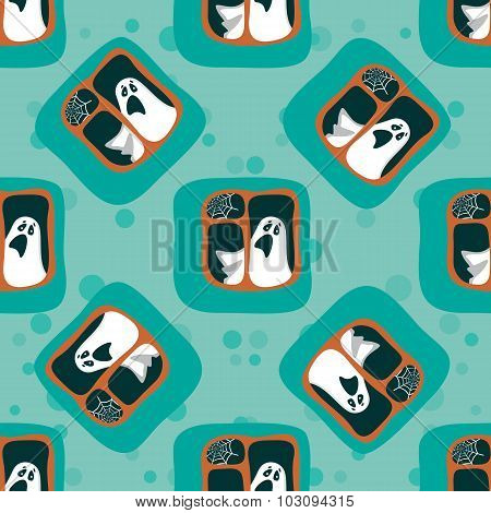 phantom seamless pattern