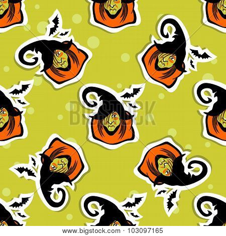 witch seamless pattern