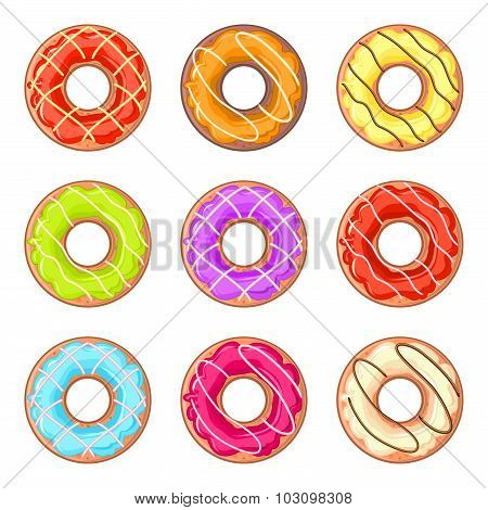 Lined Donuts