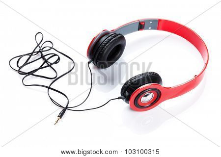 Headphones. Isolated on white background
