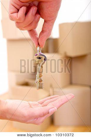 Keys Of A New House