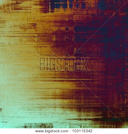 Abstract distressed grunge background. With different color patterns: yellow (beige); brown; purple (violet); blue