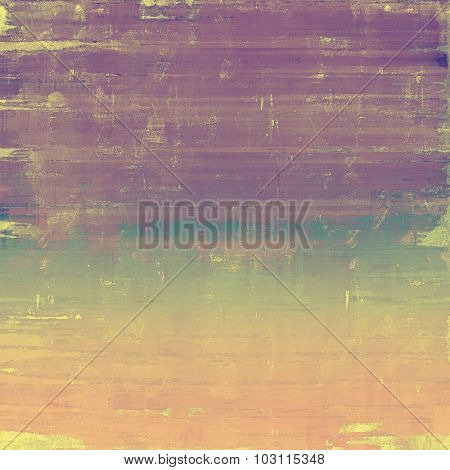Old background with delicate abstract texture. With different color patterns: yellow (beige); brown; purple (violet); blue
