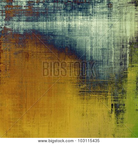 Rough grunge texture. With different color patterns: brown; green; blue; gray