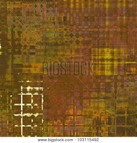 Grunge texture or background with space for text. With different color patterns: yellow (beige); brown; purple (violet); green