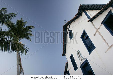 Colonial church In Brazil