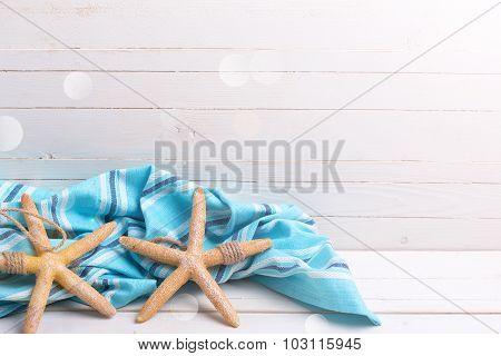 Marine Item  And Blue Towel