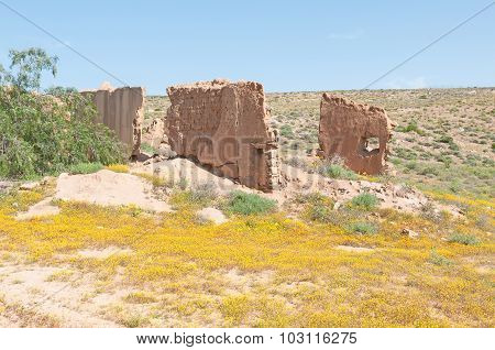 Ruins On The Roof Of Namaqualand Trail