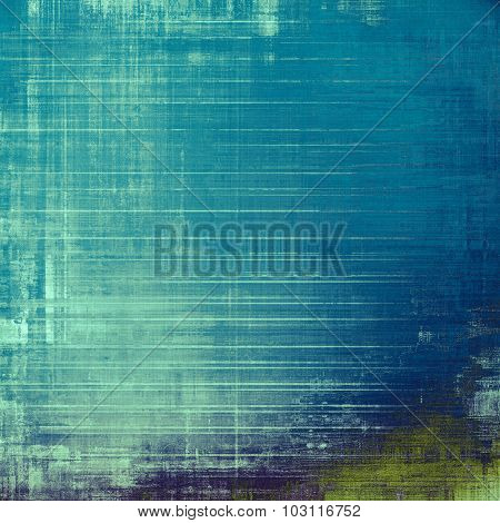 Abstract grunge textured background. With different color patterns: blue; gray; cyan; green