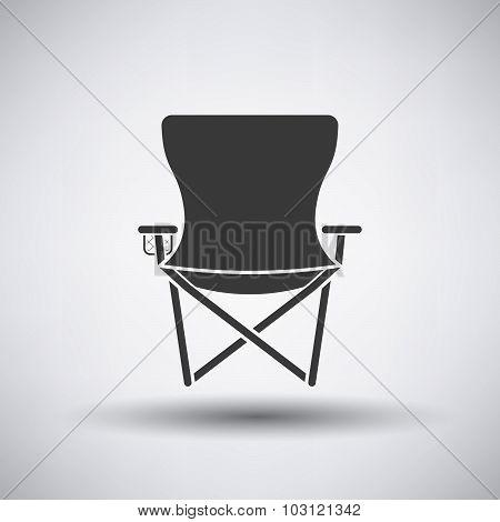 Fishing Chair Icon
