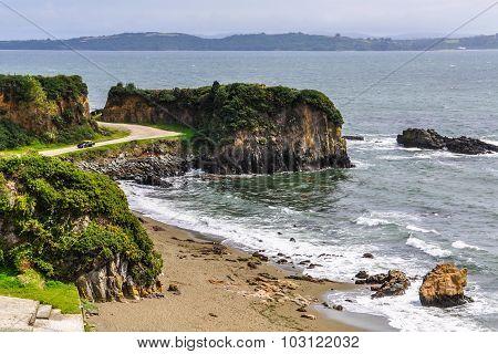 Beach, Ancud, Chiloe Island, Chile