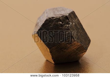 Pyrite Cubes Isolated
