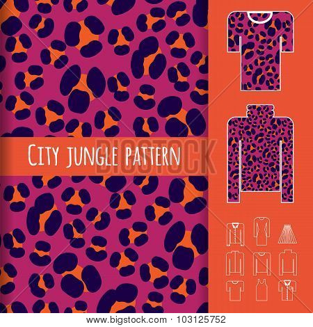 Animal Print Seamless Pattern