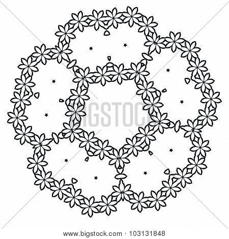 Vector illustration. Design elements vintage isolated on white background.
